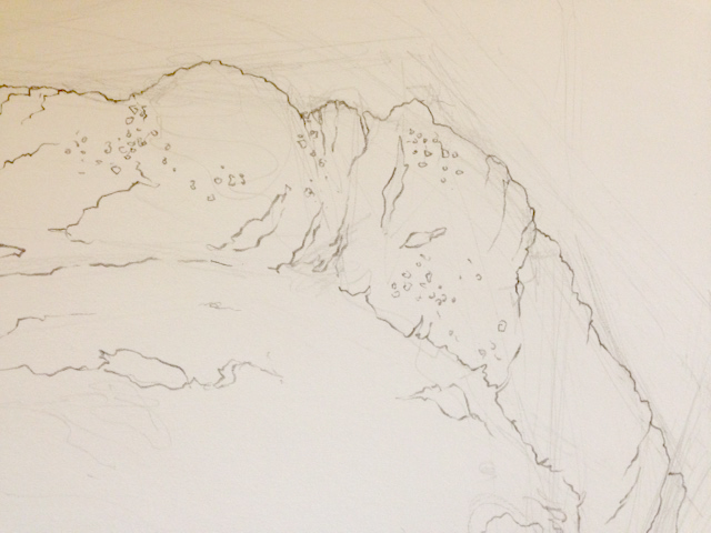 Contour Line Drawing In Art : Contour line drawing of organic forms u dorothy fatunmbi medical