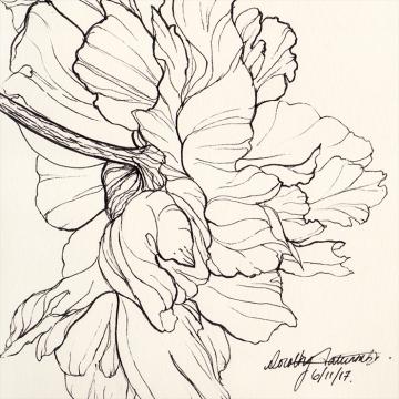 Ink flower 05