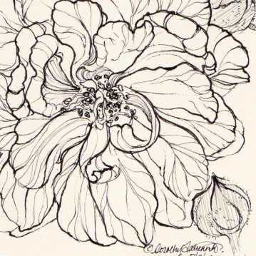 Ink flower 03