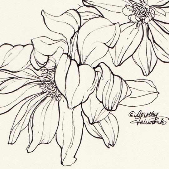 Ink flower 02