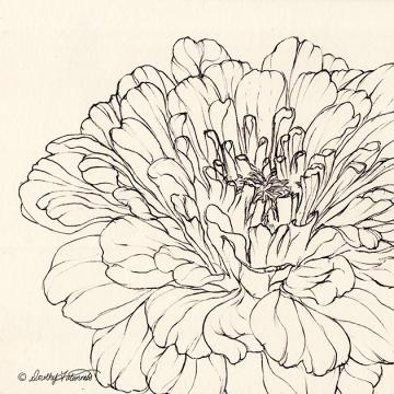 Ink flower 06